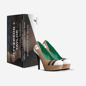 Visual Illusion Women's Platform Heels