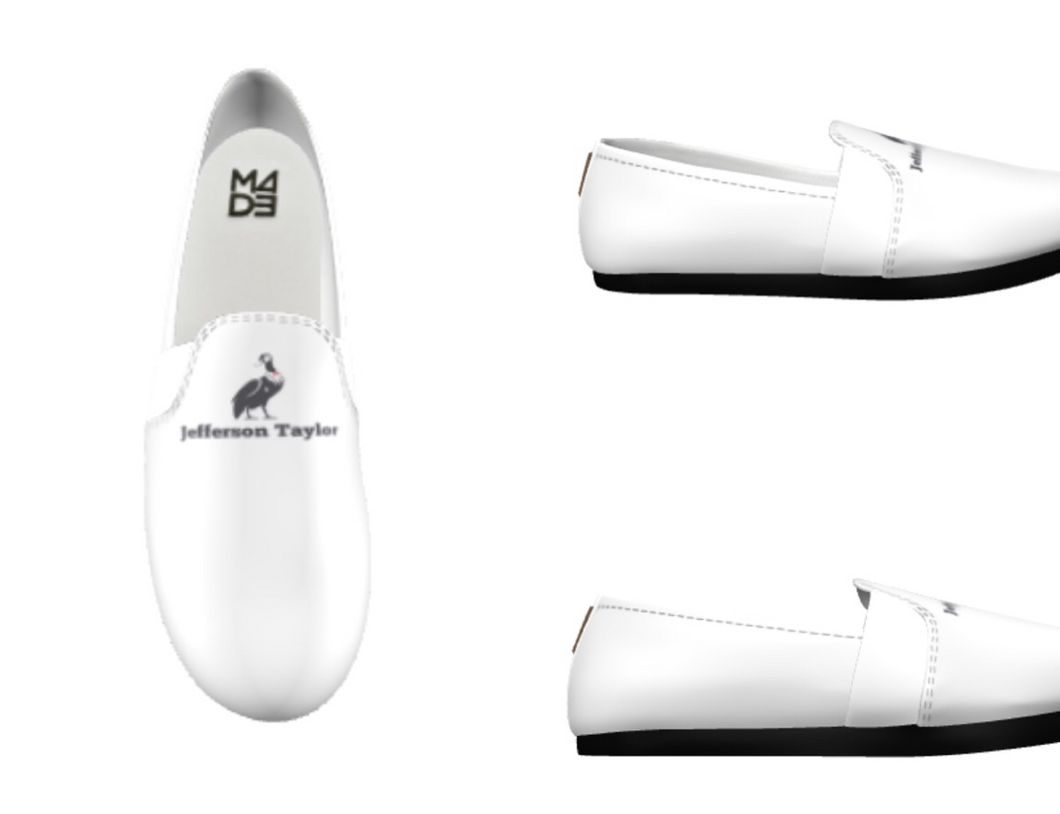 Loafers (white with black sole)