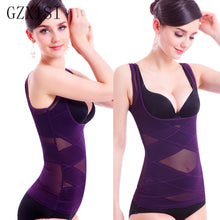 Load image into Gallery viewer, Shapewear Tank Top Camisole Body Shaper and Sexy Cami For Tummy and Waist trainer Vest for Weight Loss Fat Burning Girdle Belt