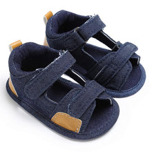 Load image into Gallery viewer, Baby Boys Toddler Canvas Infant Kids Girl boys Sole Crib Toddler Sandals Shoes sandals for boy