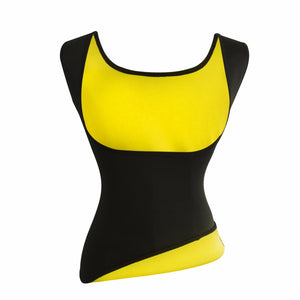 Women Neoprene Slimming Belt Weight Loss Tummy Control Vest Sweat Sauna Suits Workout Body Shaper Waist Trainer Shapewear