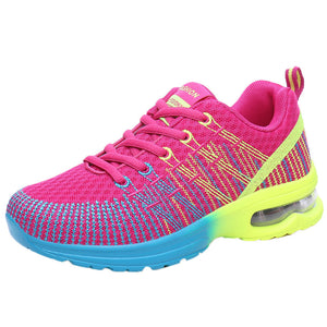 Women Fashion Breathable Comfortable Athletic Sport Shoes Sneakers Running Shoes