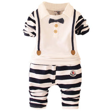 Load image into Gallery viewer, Boys Clothes Sets Long Sleeve Fashion Striped Children's Clothing For Boy Spring/Autumn Boys Sets