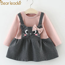 Load image into Gallery viewer, Bear Leader 2018 Hot Sal Girls Long Lleeve Dress Toddler Girl Winter Clothes Girls Dresses
