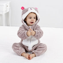 Load image into Gallery viewer, Bear Leader Baby Rompers Autumn Winter new Baby Girls Clothes Flannel cartoon animals Kids Clothes Toddler Jumpsuit boys Rompers