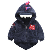 Load image into Gallery viewer, Bear Leader Outerwear Coats Winter Warm Thick Children girls Jacket Cute dinosaur Hooded Clothes fashion Cartoon Kids boys Coats