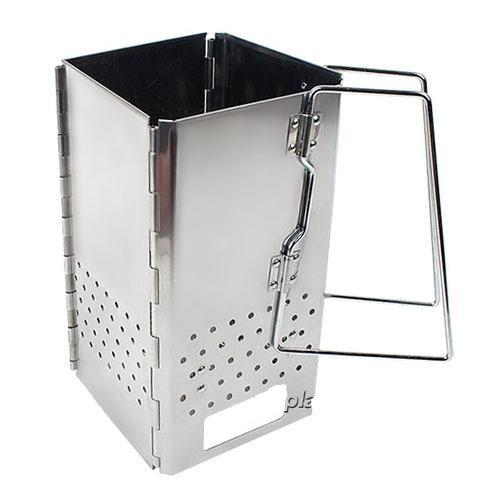 Folding Fire Starter-Barbecue Basket