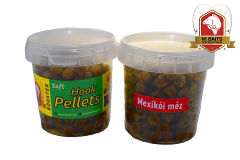 M Baits pehmeä koukkupelletti - Mexican Honey 80g