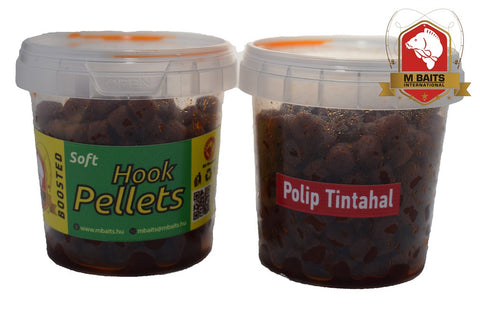 M Baits pehmeä koukkupelletti - Octopus Squid 80g