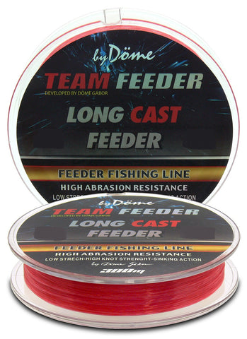 By Döme TEAM FEEDER Long Cast Line 0,18mm/300m – 4,4kg