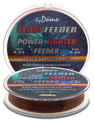 By Döme TEAM FEEDER Power Fighter Line 0,25mm/300m – 8,4kg