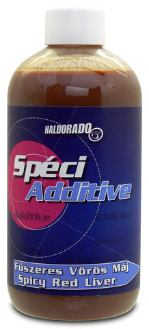 Haldorado SpeciAdditive – Spicy Red Liver 300ml