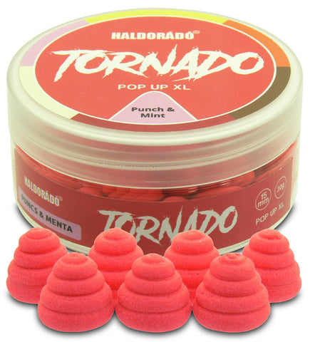 Haldorado TORNADO Pop Up XL – Punch & Mint 30g