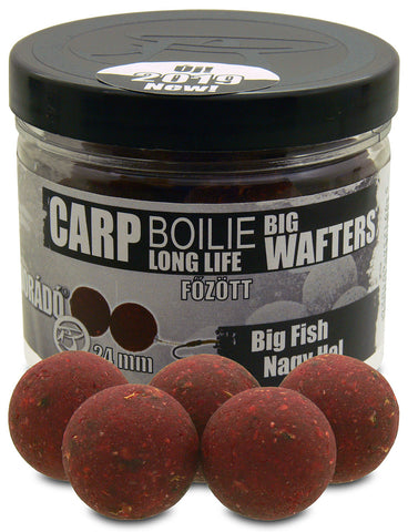 Haldorado Carp Boilie Longlife Big Wafters 24mm – Big Fish 70g