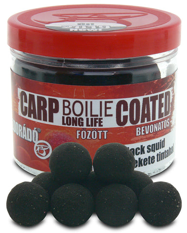 Haldorado Carp Boilie Longlife Coated 18mm – Black Squid 70g