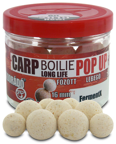Haldorado Carp Boilie Longlife Pop Up 16, 20mm – FermentX 40g