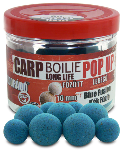 Haldorado Carp Boilie Longlife Pop Up 16, 20mm – Blue Fusion 40g
