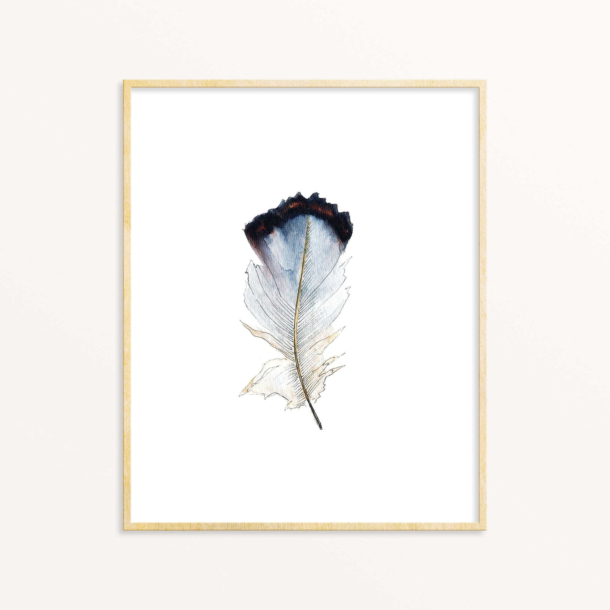 Lone Feather No. 10