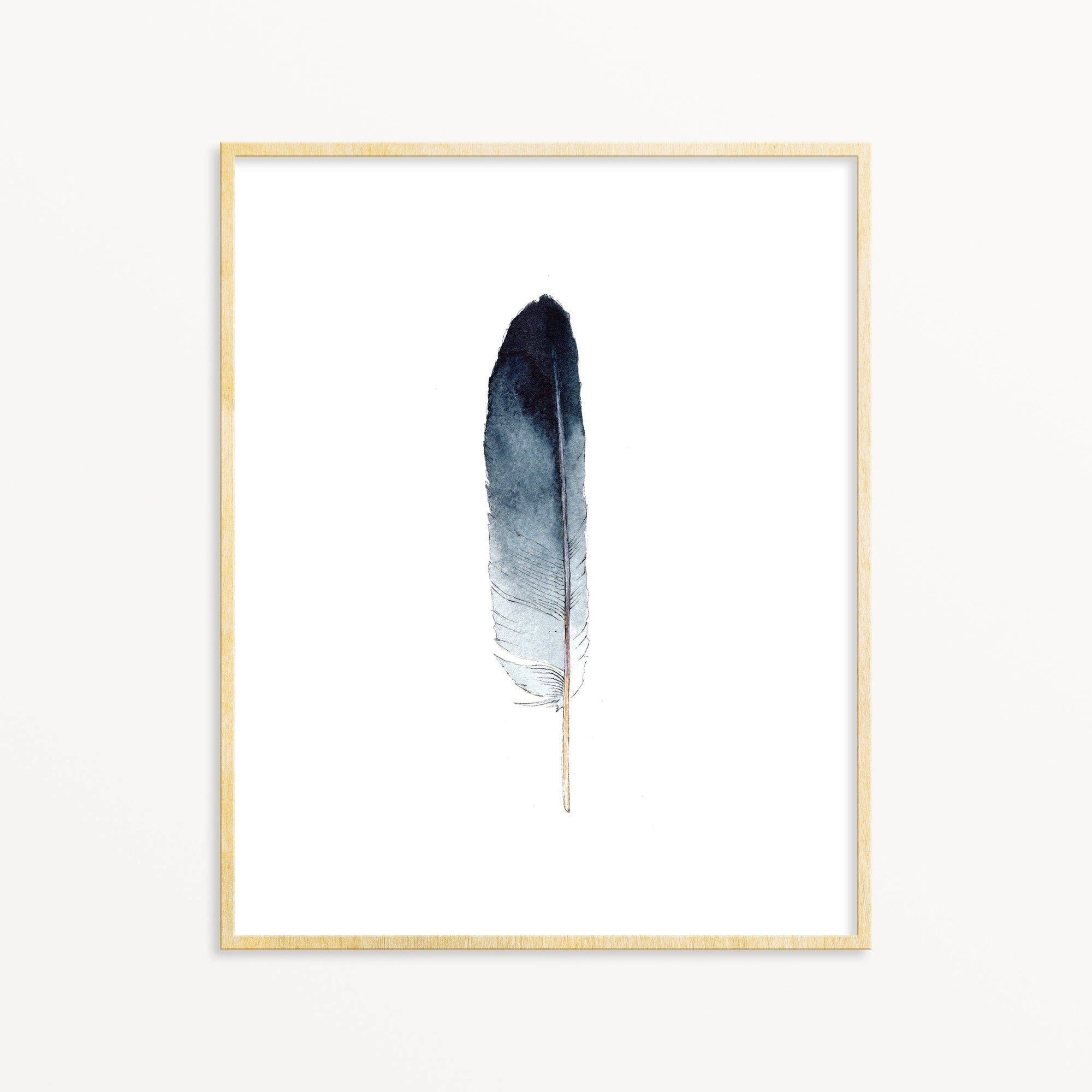 Lone Feather No. 15