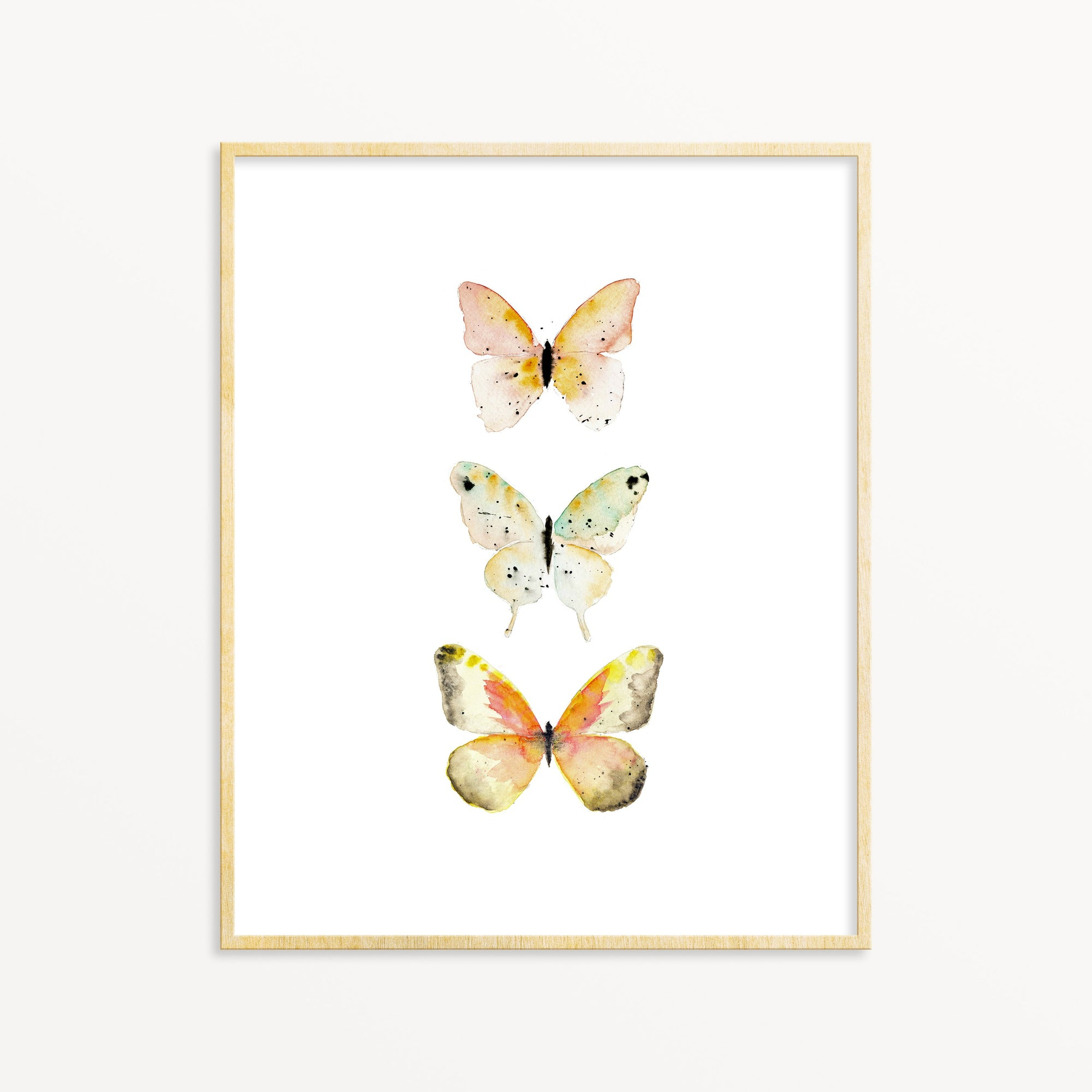 3 Butterflies No. 3