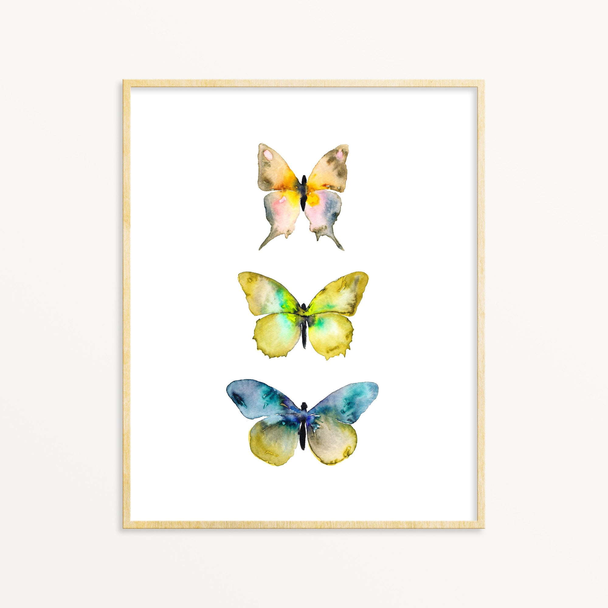 3 Butterflies No. 4