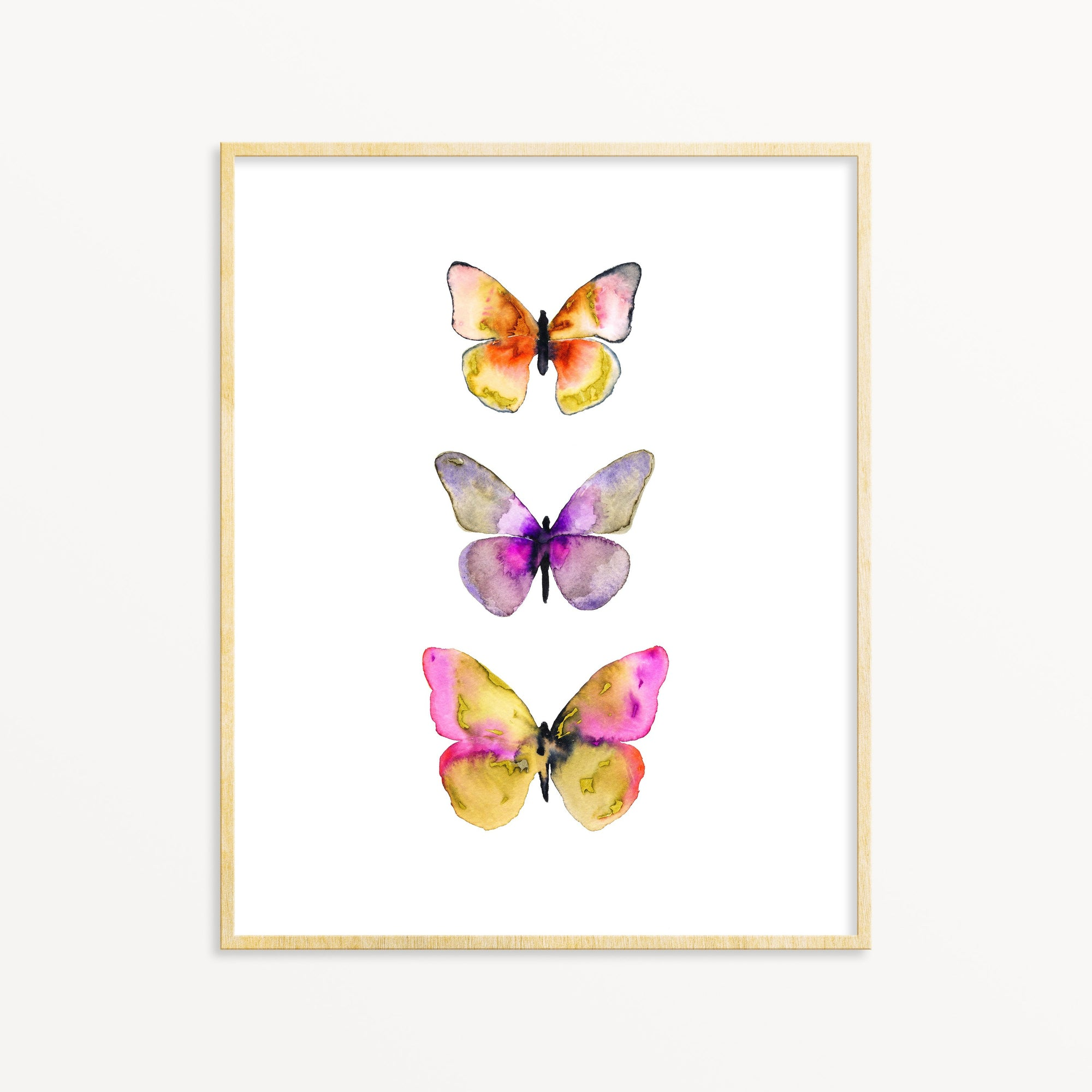 3 Butterflies No. 5