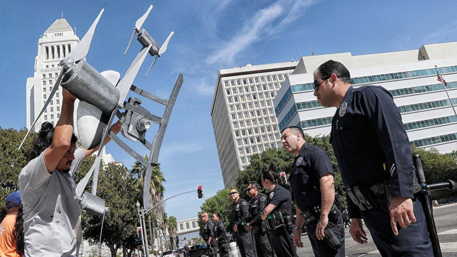 LAPD moving towards deploying drones in controversial yearlong test