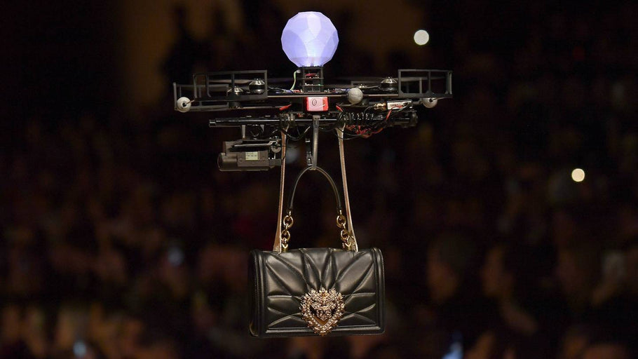 Drones Just Carried Dolce & Gabbana's New Handbags Down the Runway