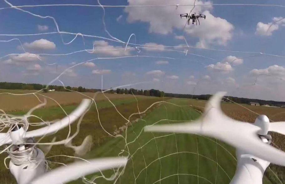 Fortem's DroneHunter Will Down or Capture any Unwanted Drones