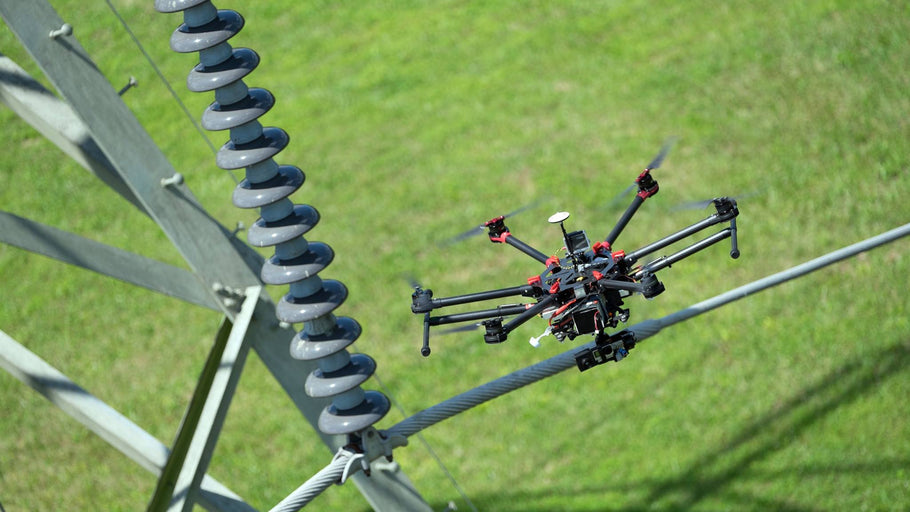 BGE will test use of drones to inspect power lines