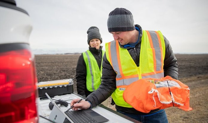 North Dakota Partners and Harris Corporation complete initial field testing for first-of-its-kind C2 ground radio network supporting UAS BVLOS flights