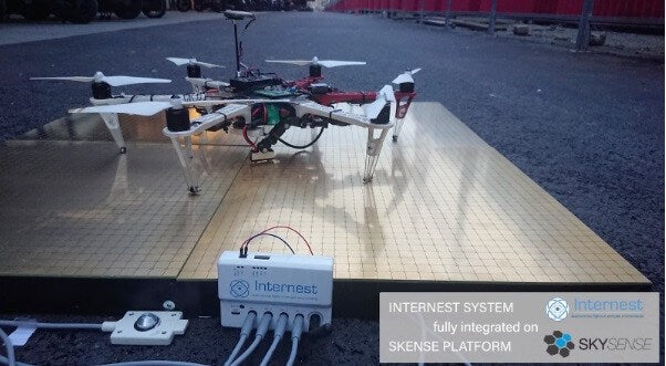 Internest and Skysense Announce Strategic Partnership to Strengthen Drone