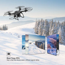 Load image into Gallery viewer, HOBBYTIGER H301S Ranger Drone with Camera Live Video and GPS Return Home 720P HD Wide-Angle WiFi Camera for Kids, Beginners and Adults - Follow Me, Altitude Hold, Long Control Range