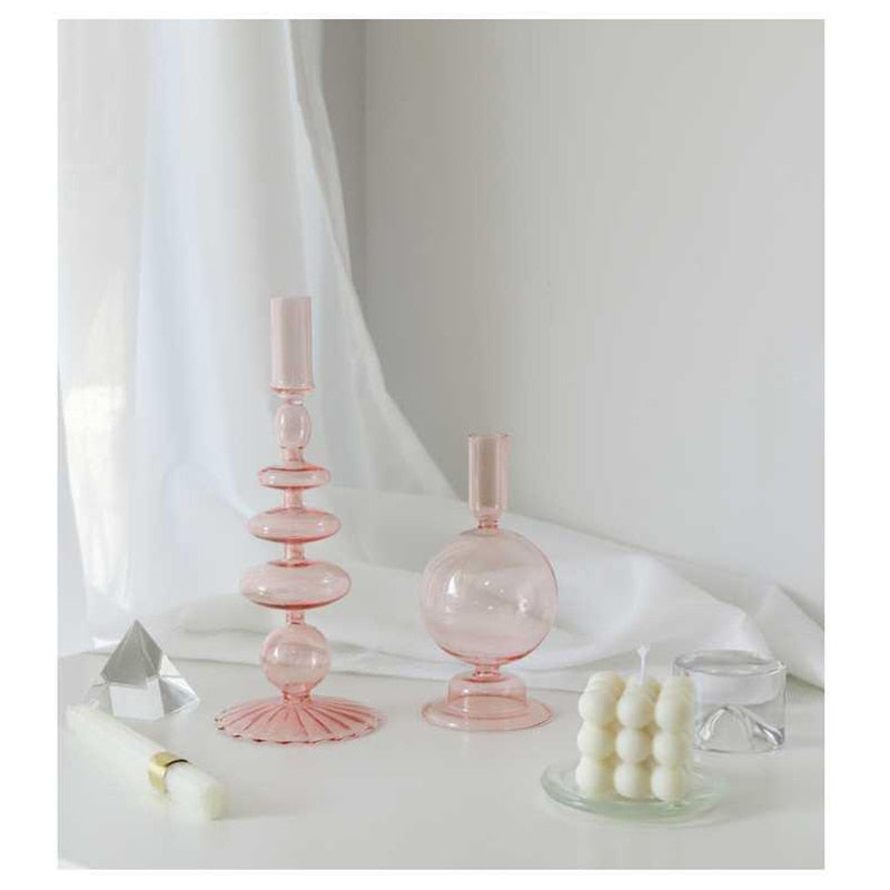 Clairo Glass Candle Holder