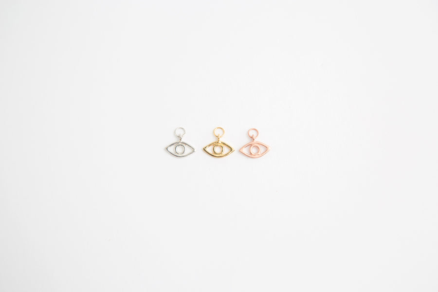GIGI EYE CHARM IN GOLD