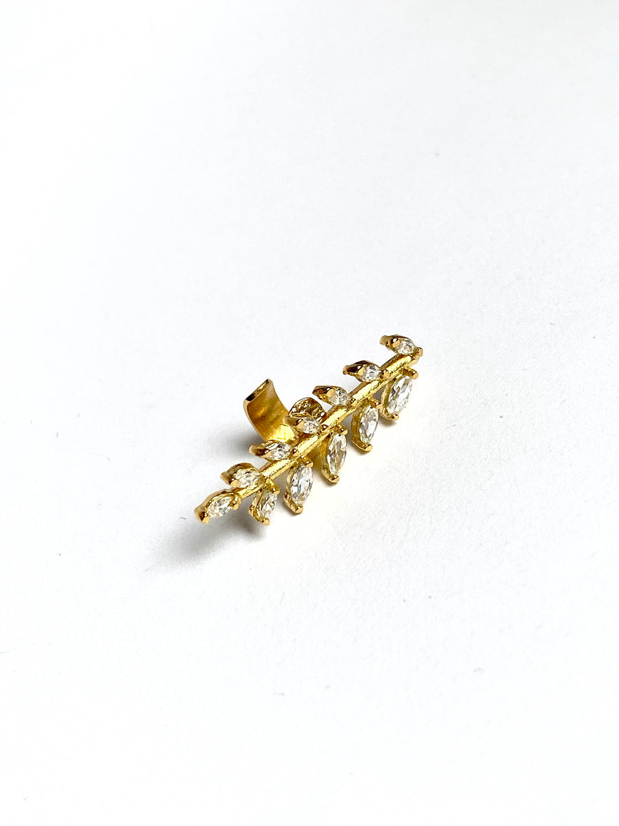 MALFITANA EAR-CUFF IN GOLD