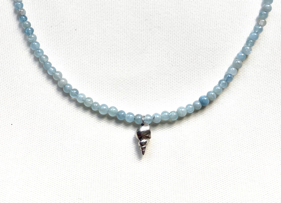 SHANTI BLUE NECKLACE