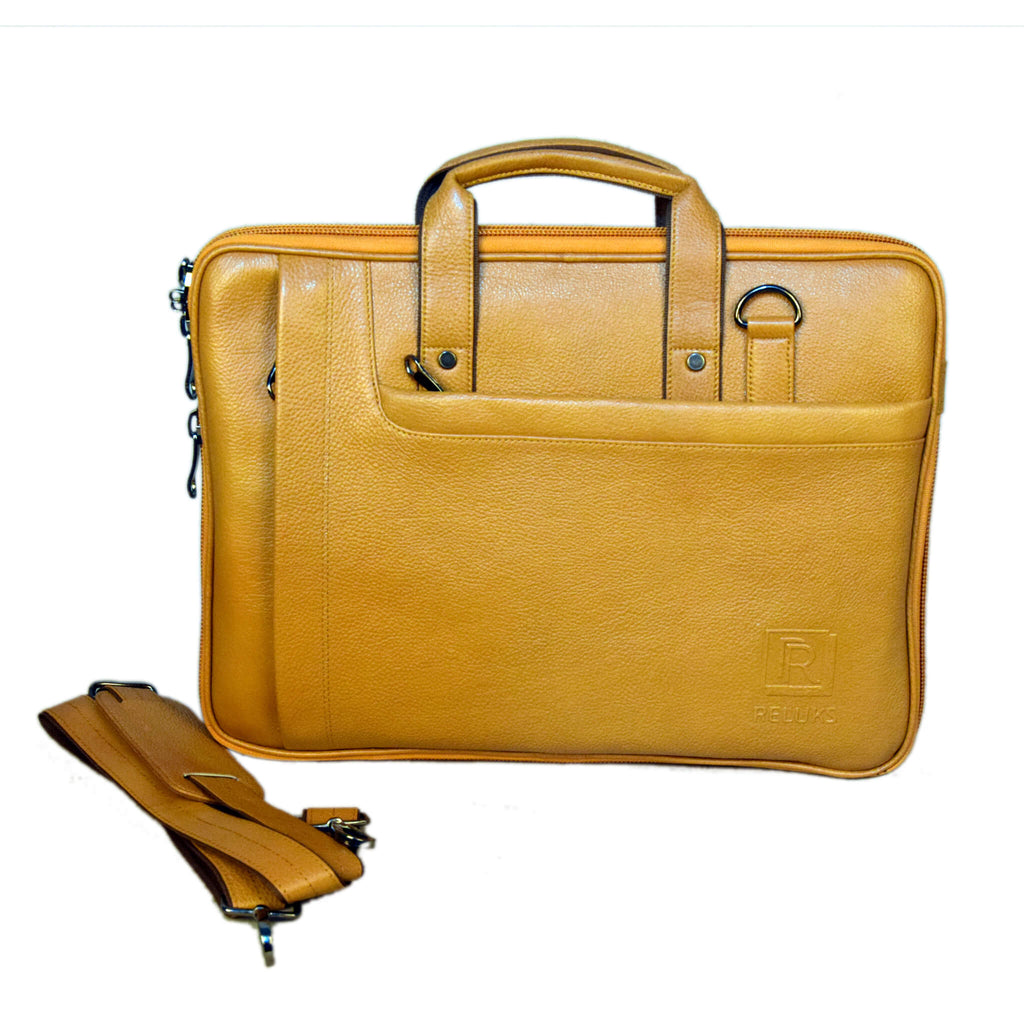 Messenger Spanish Yellow Laptop Bag