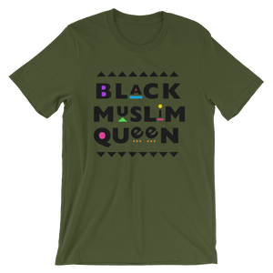 Black Muslim Queen™ (black text) T-shirt