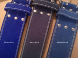 EASY ORDER: Custom Navy Blue Belt - Resolute Strength Wear
