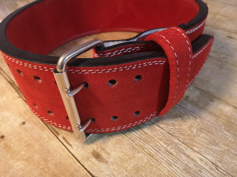 Clearance belt: Red prong belt - Resolute Strength Wear