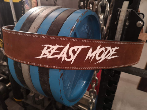 EASY ORDER: Custom Beast Mode Designer Belt - Resolute Strength Wear