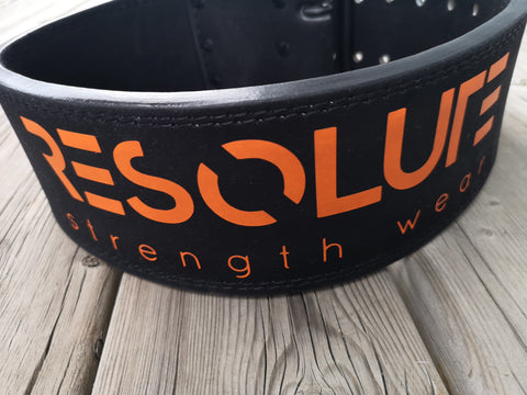 Resolute Strength Wear Branded Belt - Resolute Strength Wear