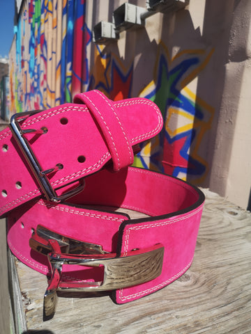 EASY ORDER: Custom Pink Belt - Resolute Strength Wear