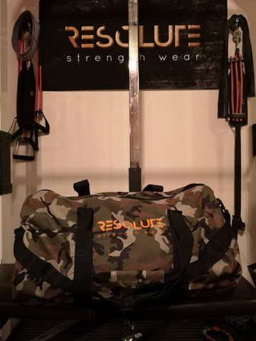 Resolute Camo Bag - Resolute Strength Wear
