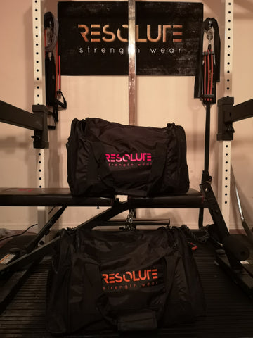 Resolute Kit Bag - Resolute Strength Wear