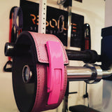 LIMITED EDITION PINK SPARKLY LEVER BELT - Resolute Strength Wear
