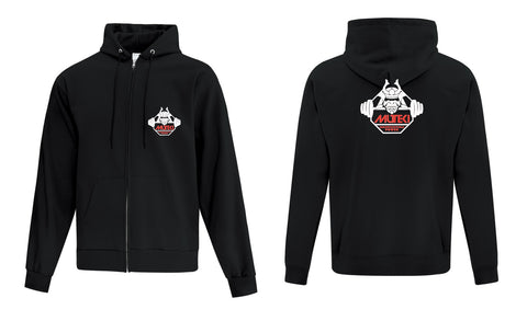 Muteki Strong Zippered Hoodie - Resolute Strength Wear