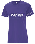 Resolute Curvy Tshirt - Beast Mode - Resolute Strength Wear