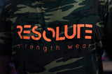 Resolute Tshirt - Camo - Resolute Strength Wear